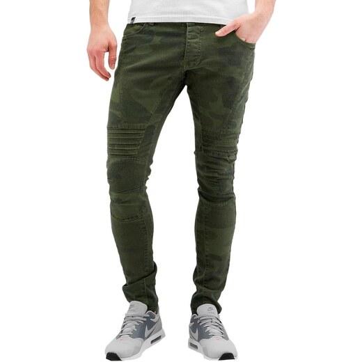 2Y PREMIUM 2Y kalhoty pánské Faro Skinny Jeans Camouflage - Glami.cz ffa288f02d