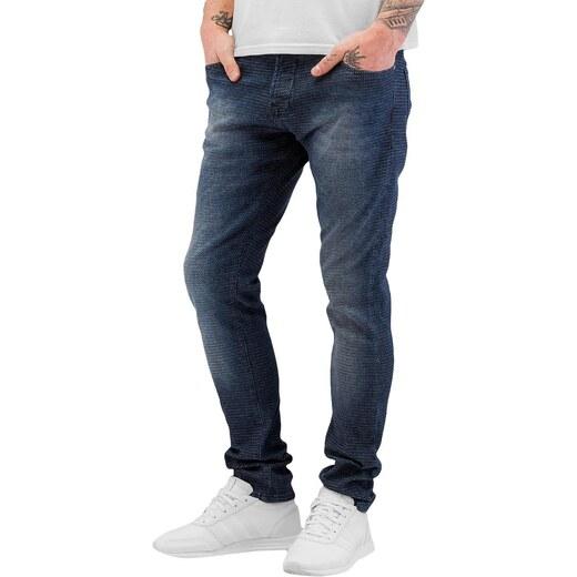 2Y PREMIUM 2Y kalhoty pánské Pattern Skinny Jeans Blue - Glami.cz 4dc7a81c66