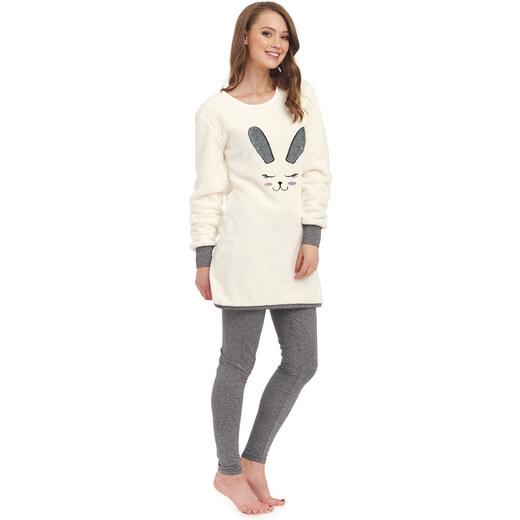 DN Nightwear Női meleg pizsama Bunny nyuszi - Glami.hu 3e7fb492da