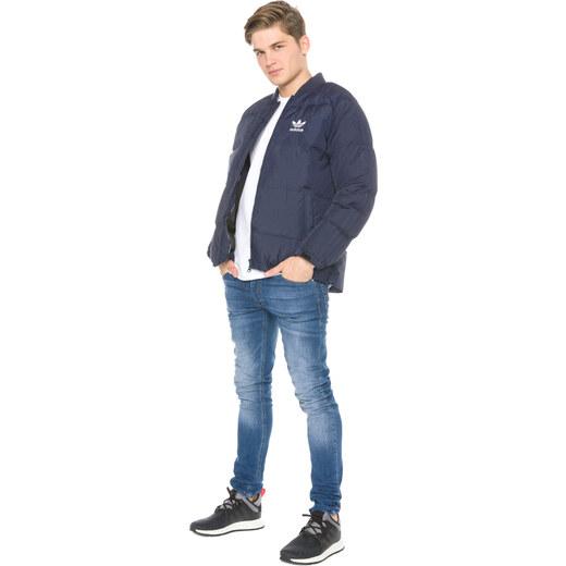 adidas Originals Bunda Modrá - Glami.sk 0f823c5f6e1