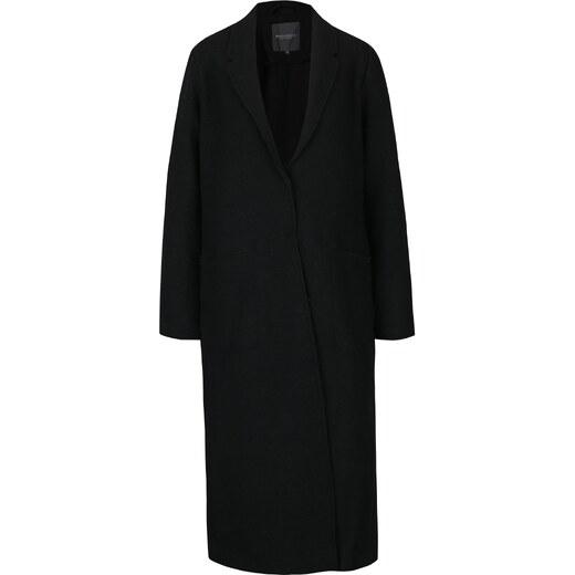 Černý dámský dlouhý vlněný kabát Broadway Malea - Glami.cz 1dff22878b5