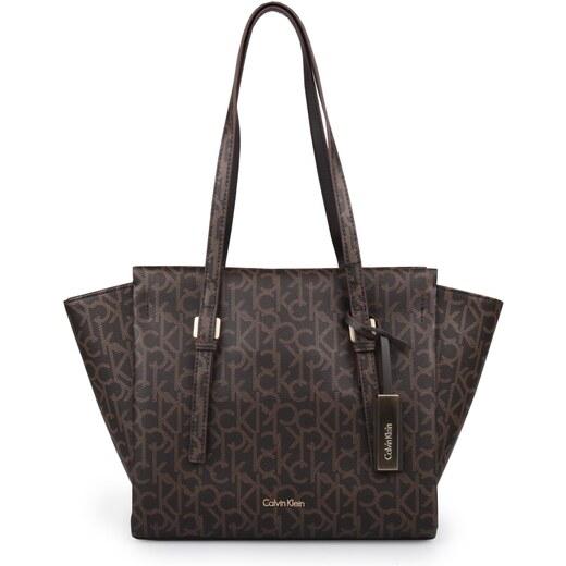 dc09a8128e Calvin Klein Dámská kabelka Marissa Mono Medium Tote Bag K60k602856 -  Glami.cz