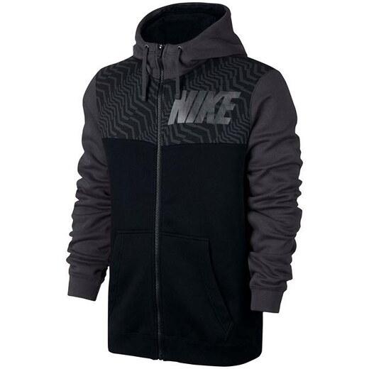 7329bf44cc Nike Graphic FZ férfi kapucnis cipzáras pulóver - Glami.hu