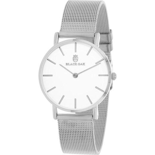 27247f0438b Bílostříbrné dámské hodinky Black Oak Dame - Glami.cz