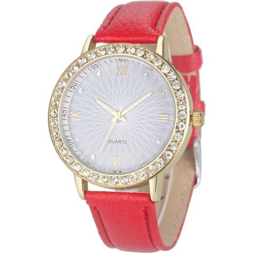 Shim Watch Lola Dámské hodinky s krystaly červené - Glami.cz 1b9345a02a