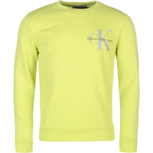 Calvin Klein Haro Crew Sweatshirt Green 397652 - Glami.cz 5dfed963e6