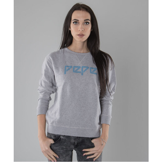 9eebe6b976e Dámská mikina Pepe jeans Jimena grey