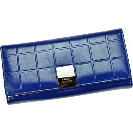 Dámska kožená peňaženka Cavaldi P24-3 - modrá - Glami.sk d97b4e85f82