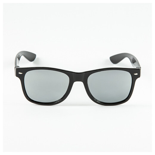 3be5a2b70 Sunmania Wayfarer zrkadlové okuliare 032 čierne - Glami.sk