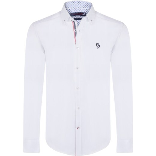 Giorgio Di Mare Pánská košile GI8523281 White - Glami.cz a43e5bf595