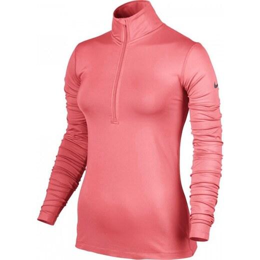 Nike Pro Warm Růžové funkční tričko (803145-655) Odstíny barev  růžová 7e77bf8c3b4
