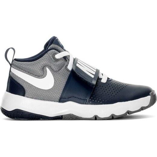 Nike Dětské modro-šedé sportovní boty (881942-401) - Glami.cz f250daa9b2