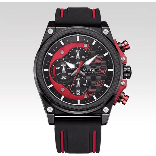 Megir Hodinky Le Mans červené - Glami.sk 084084357e8