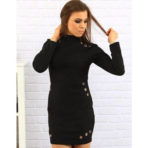 d8faea1f7308 Dstreet Čierne šaty Andrea - Glami.sk