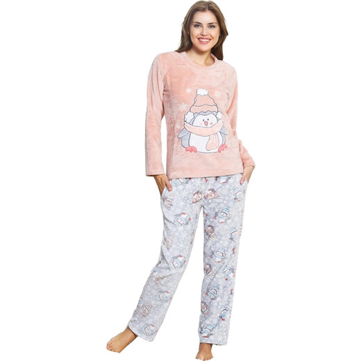 Vienetta Secret Női puha pizsama Mona pingvin - Glami.hu 4dfe99b529