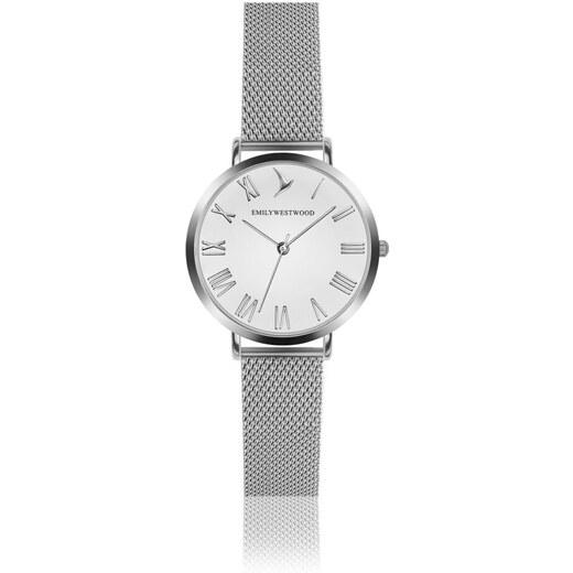 Dámské hodinky s páskem z nerezové oceli ve stříbrné barvě Emily Westwood  Oldtown - Glami.cz 411e2e55cc9