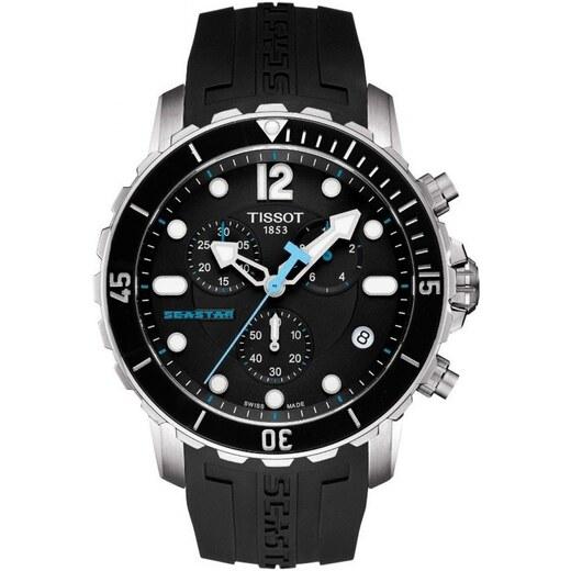 c2134358ba Pánské hodinky TISSOT Seastar 1000 Chrono T066.417.17.057.00 - Glami.cz