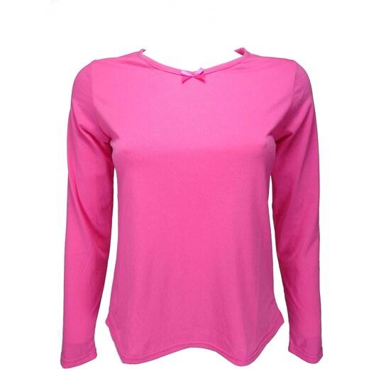 64ff5f85cd03 ADORE dámské růžové triko s dlouhým rukávem - Glami.cz