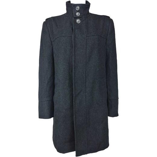 BURTON LONDON pánský černý kabát - Glami.sk d7c052fb3a0