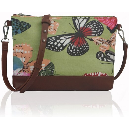 Miss Lulu Kabelka Small Crossbody Butterfly Dream - zelená - Glami.cz e9f745307d