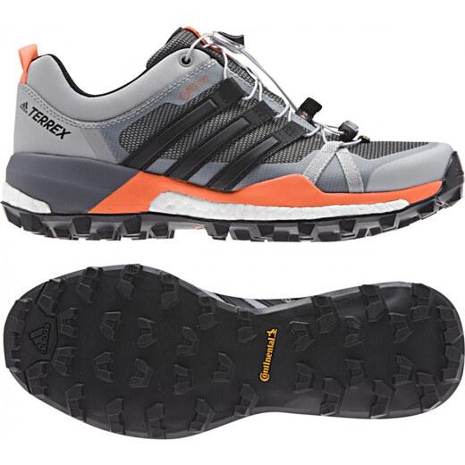 Outdoorové boty adidas Performance TERREX SKYCHASER GTX W (Šedá   Černá    Oranžová) - Glami.cz f9bf6e31f6