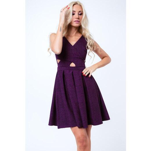 31bb95d2c95d Vzorované rozšírené šaty