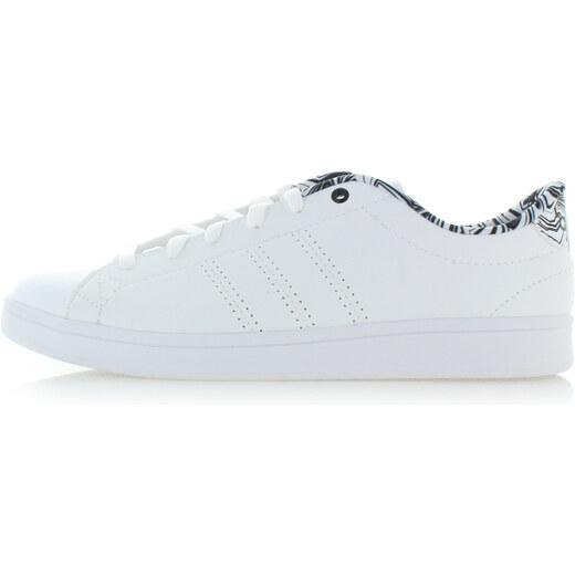 adidas CORE Dámske biele tenisky Advantage Clean QT - Glami.sk 8b54573f4cd