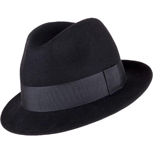 Pánský černý klobouk Assante 85032 - Glami.cz 865f01ded8