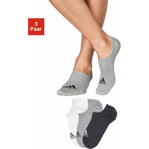 adidas Performance offene Kotníkové ponožky (3 páry) - Glami.cz cfc764a62b