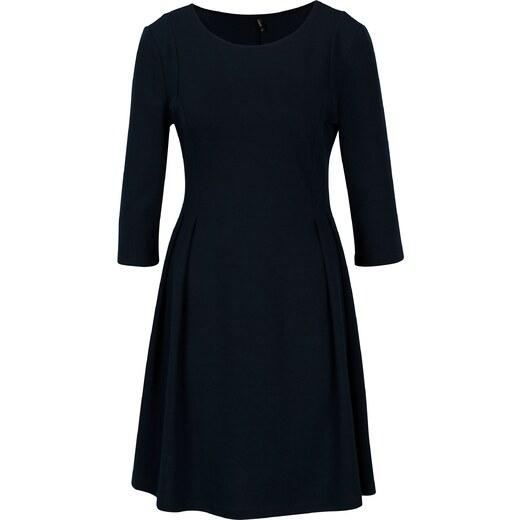 Tmavě modré šaty s 3 4 rukávem ONLY Vicky - Glami.cz e03a6a7de6