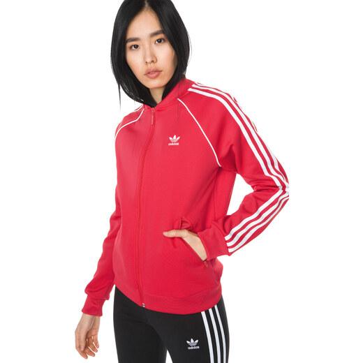 d9f345ea7a Női adidas Originals SST Melegítő felső Piros - Glami.hu