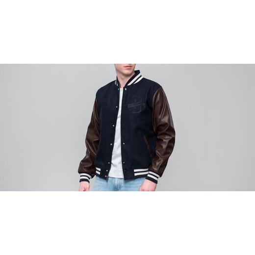New Era World Hood Varsity Jacket Navy - Glami.sk cc093b97fe