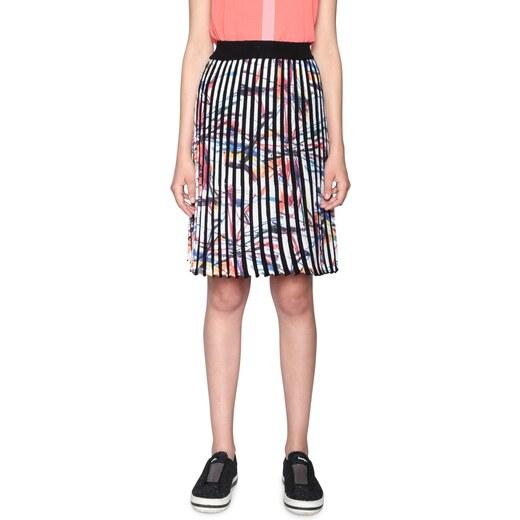 0f1924d860b1 Desigual pruhovaná plisovaná farebná sukňa Lady Liberty - Glami.sk
