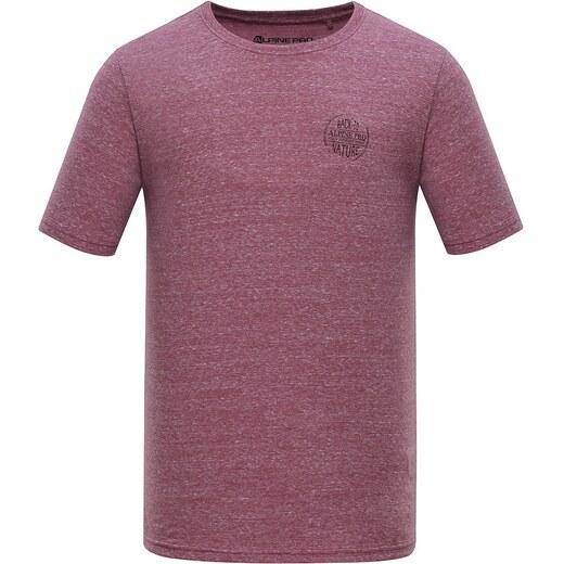 Pánské triko Alpine Pro KERP - růžová - Glami.cz 7452d293e55