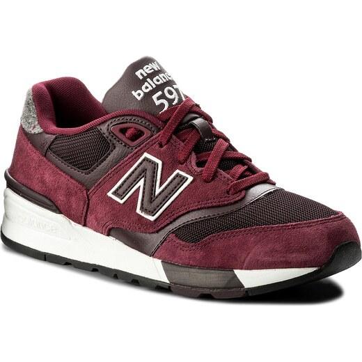 Sneakersy NEW BALANCE - ML597NEC Bordó - Glami.cz 06f9d51260