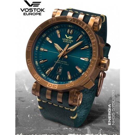 Pánske hodinky Vostok-Europe ENERGIA Rocket Bronz line NH35 575O286 -  Glami.sk eb57b1a488