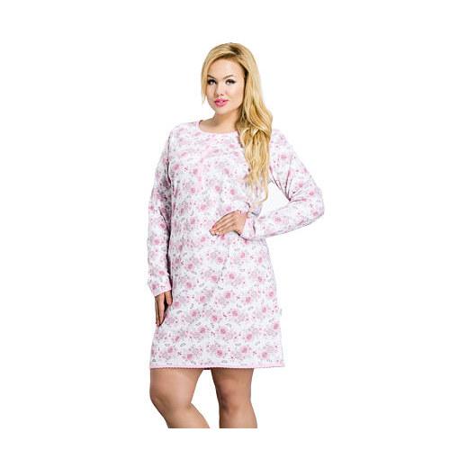 2e3bab8c71b0 Taro Dlhá dámska nočná košeľa Malina ružová