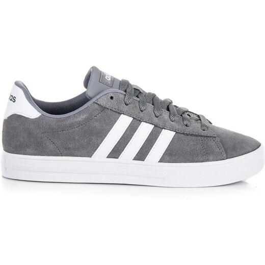 74f31a44f Moderné šedo-biele pánske tenisky Adidas - Glami.sk