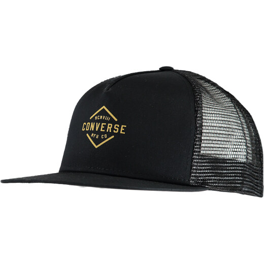Converse Černá kšiltovka Diamond-Crest Dartfront Trucker - Glami.cz 6aa0f849e2
