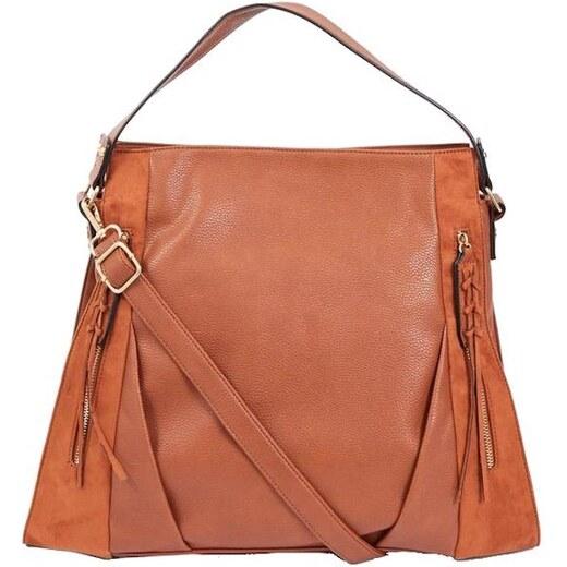 104c0791a9 NEW LOOK Hnedá veľká kabelka so strapcami - Glami.sk