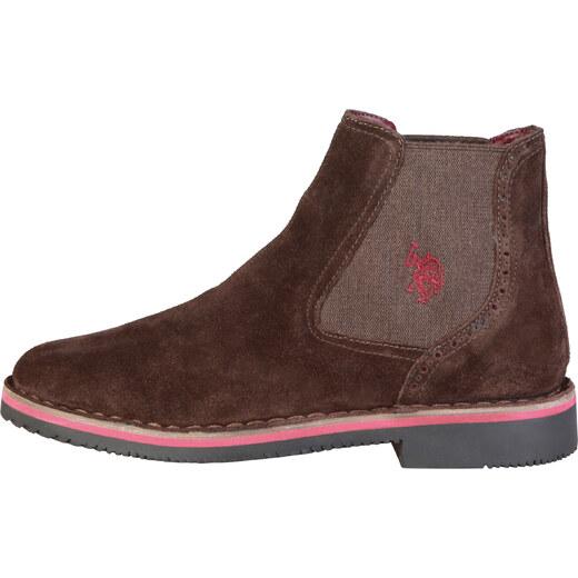 c20eab2ac32a Kotníkové topánky U.S. Polo WALT3029W7 S1 DKBR - Glami.sk