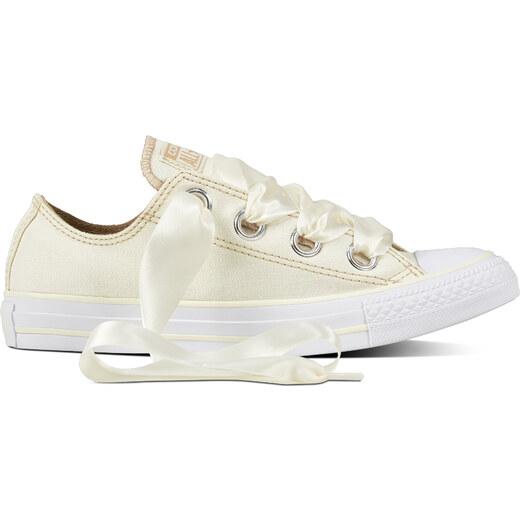 659a0e77c8b6 Converse vanilkové tenisky Chuck Taylor All Star OX Egret Vintage  Khaki White - Glami.sk