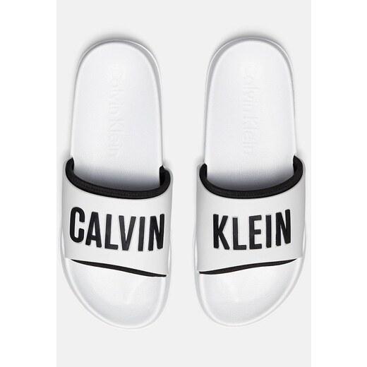 9703c9a261 Calvin Klein fehér papucs Slide Intense Power - Glami.hu