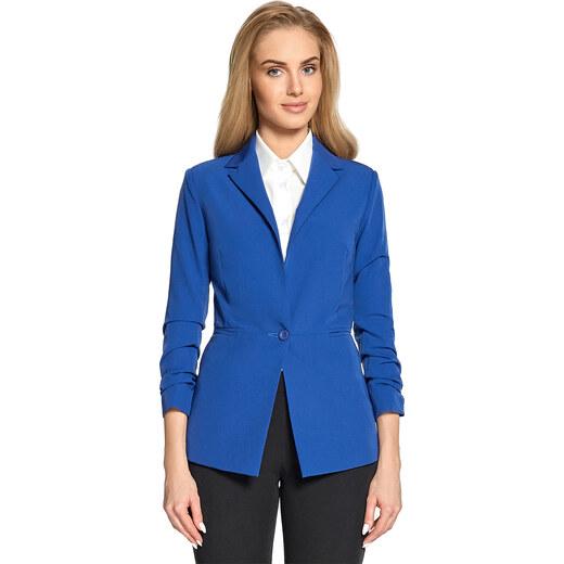 Style Modré sako S088 - Glami.cz cf565e10994