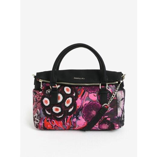 Čierna vzorovaná kabelka Desigual Bora Bora Loverty - Glami.sk f0f8cde2293