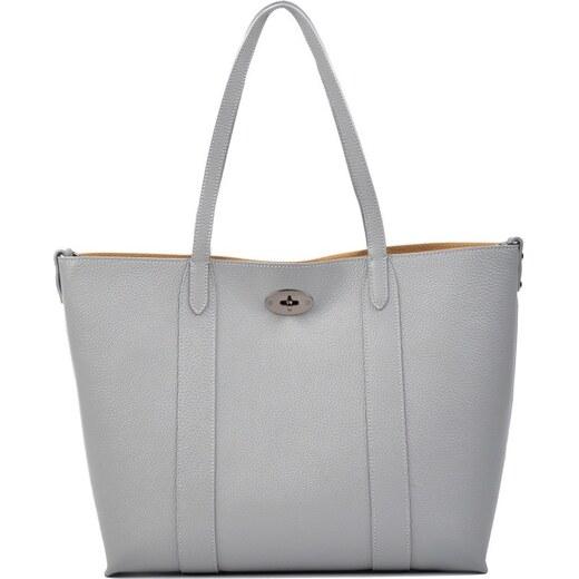 Sivá kožená kabelka Carla Ferreri Gala Grigio - Glami.sk 661059c7d8a