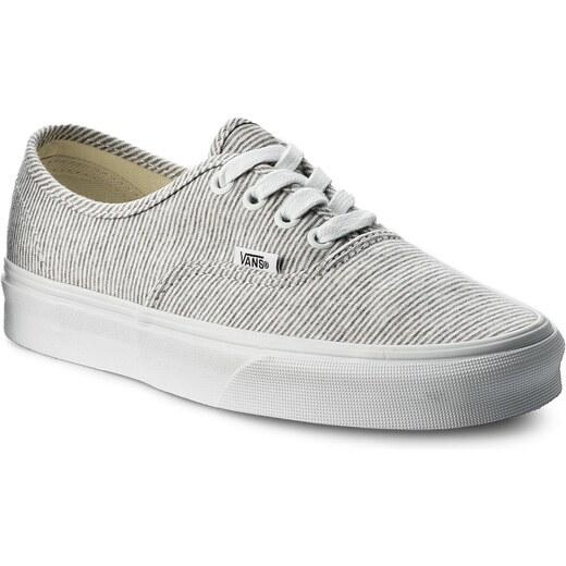 4646b1516a8 Tenisky VANS - Authentic VN0A38EMI1F (Jersey) Gray True White - Glami.cz