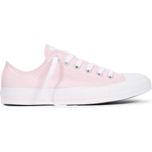 Converse růžové dámské tenisky Chuck Taylor All Star s děrováním - Glami.cz a7e2e12c5d