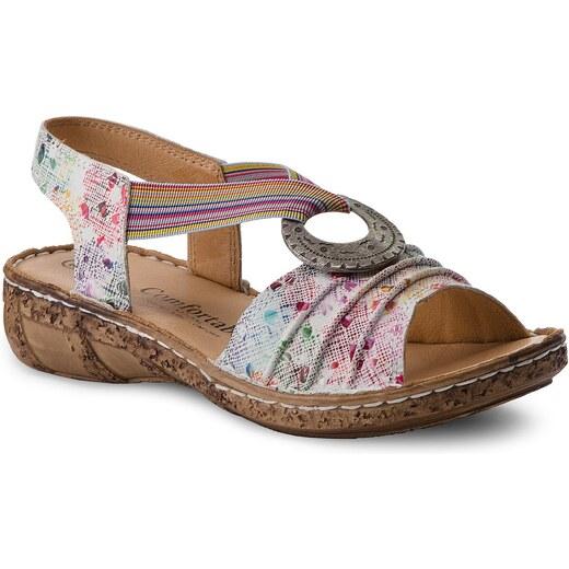 68698d7efc9c Sandále COMFORTABEL - 710890 Weiss Floral 3 - Glami.sk
