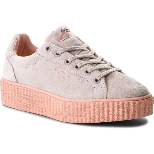 69824924b73d9 Sneakersy PEPE JEANS - Frida Seasons PLS30685 Whitewash 811 - Glami.sk